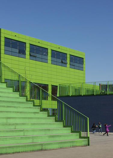 Community School The Frog, Amsterdam  –  green school