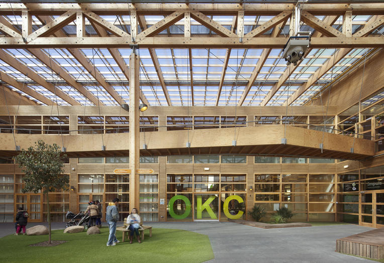Community School The Frog, Amsterdam  –  flexible structure