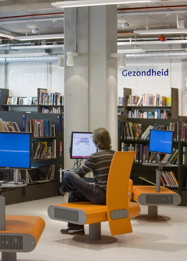 Media library, Delft  –  feel at home