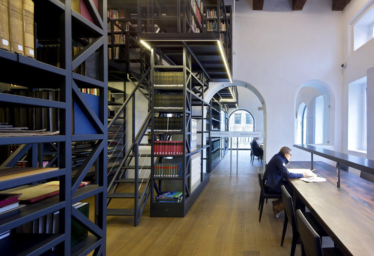 Maritime Museum, Amsterdam  –  library