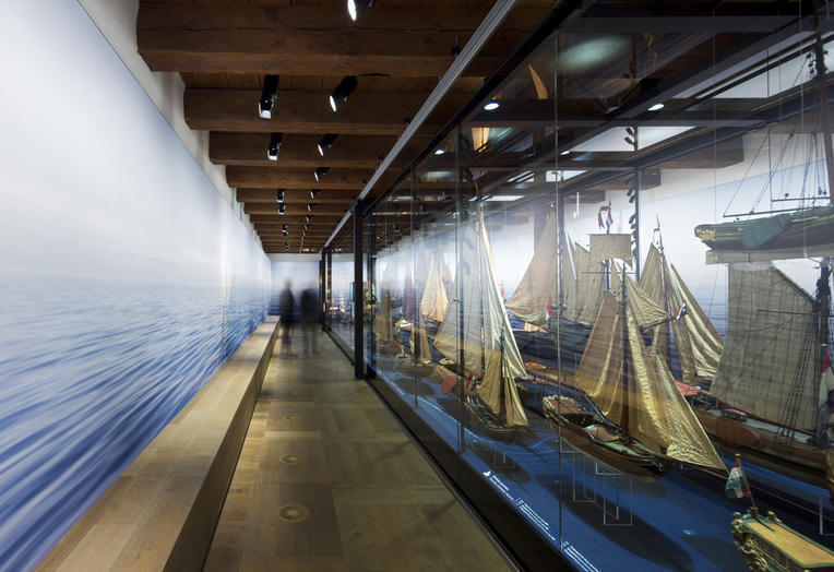 Maritime Museum, Amsterdam  –  exhibition space