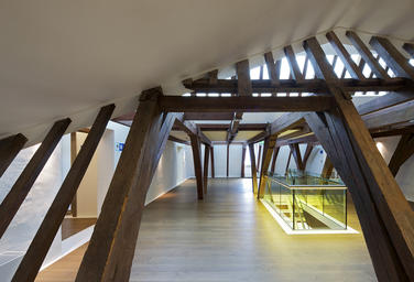 Maritime Museum, Amsterdam  –  Timber frame
