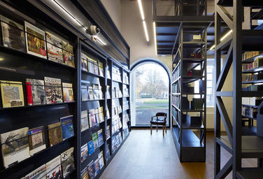Maritime Museum, Amsterdam  –  Sturdy library
