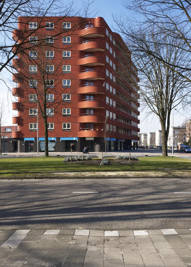 Van Tijenbuurt, Amsterdam  –  every dwelling a two-sided orientation