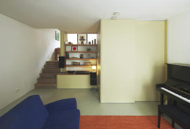Residence Jordaan, Amsterdam  –  interior split level