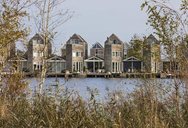 Bastion island, Leeuwarden   –  Your private dock