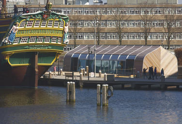 Boathouse Royal Barge, Amsterdam