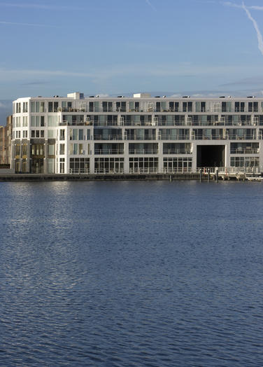 Quayside building, Amsterdam